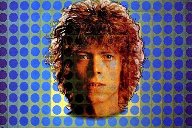 David Bowie Space Oddity album cover Vasarely 1969