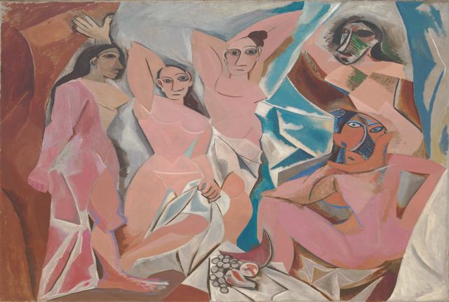 Picasso cubism les demoiselles d'avignon