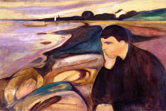 Edvard Munch, Mélancolie (1894)