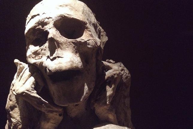 Peruvian mummy chachapoya