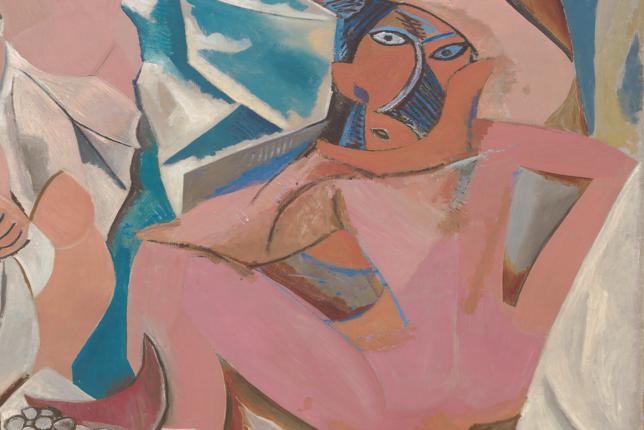 Les Demoiselles D Avignon By Picasso Artsper Magazine