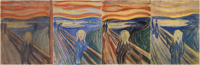 the scream four versions