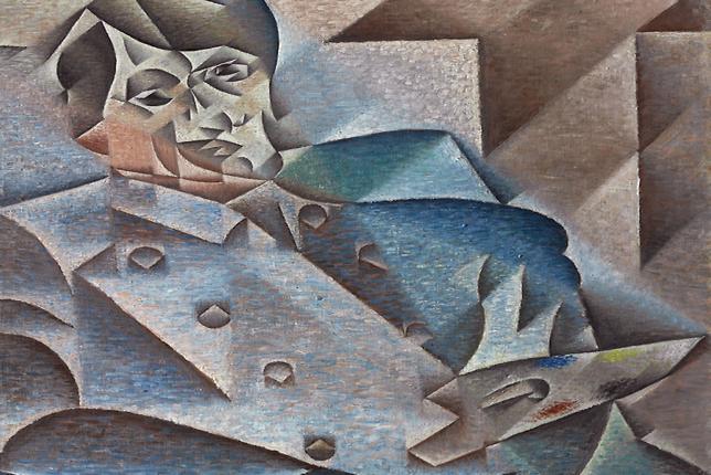Juan Gris, portrait of Pablo Picasso (1912)