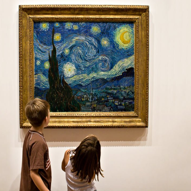 Artwork Analysis: Starry Night by Van Gogh