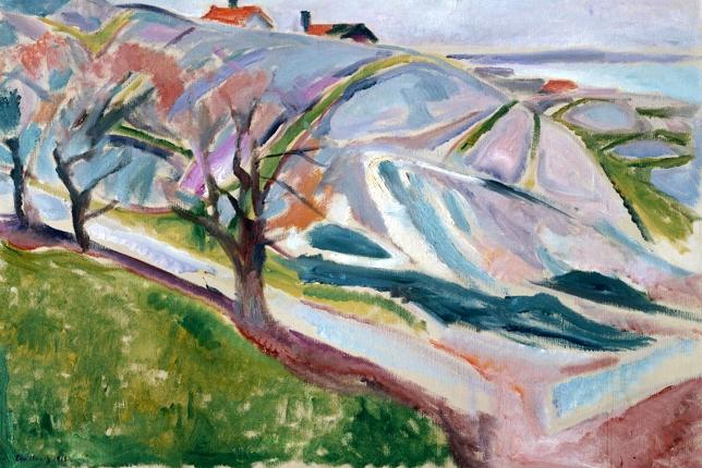 Edvard Munch Paysage Kragerø