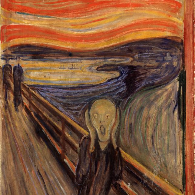 Analyse d'un chef d'oeuvre : le Cri d'Edvard Munch