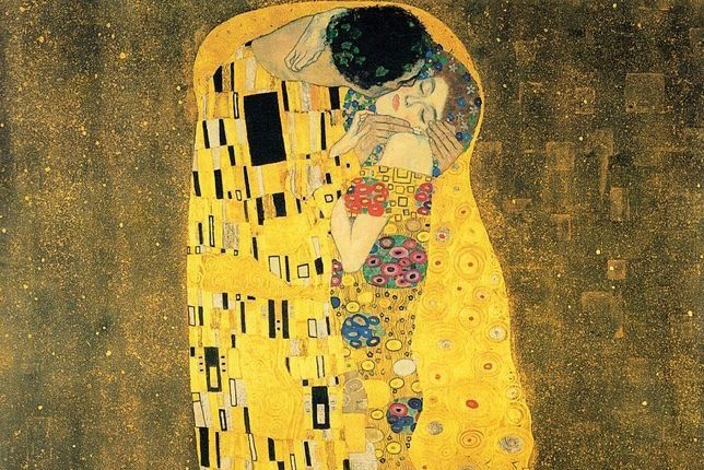 Gustav Klimt, The Kiss (1908-1909)