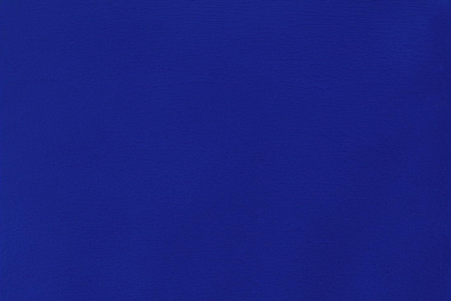 Yves Klein, Monochrome Blue Without Title (IKB 75) (1960)