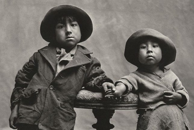 Irving Penn, Cuzco Children, (1976)