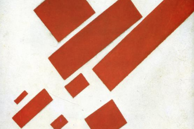 Kazimir Malevich, Eight Red Rectangles (1915)