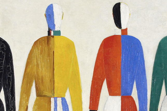 Kazimir Malevich, The Sportsmen (1928-1930)