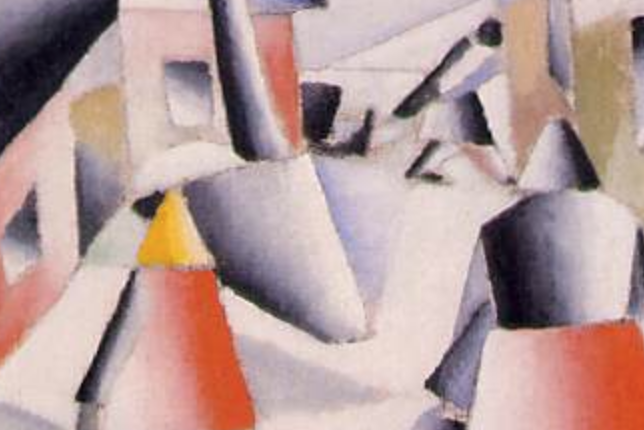 Kazimir Malevich, Morning in the Country after Snowstorm (1912)