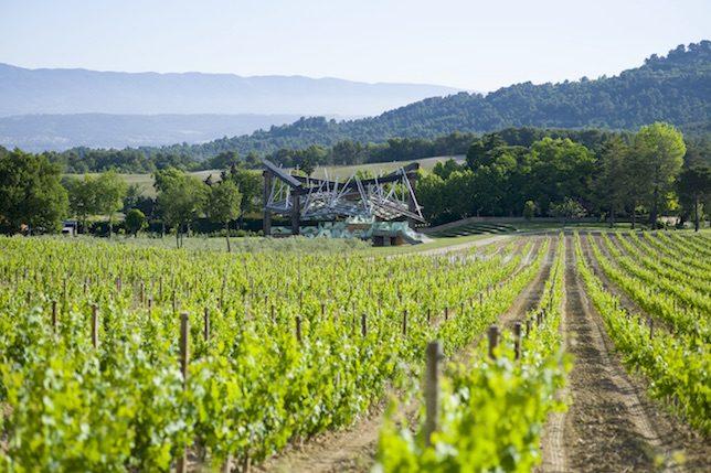 Frank O. Gehry, Pavillon de Musique (Vignes), Château La Coste