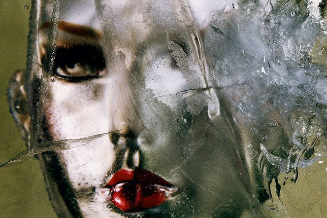 Irving Penn, Head in Ice