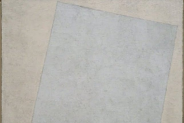 Kazimir Malevich, Suprematist Composition White on White (1918)