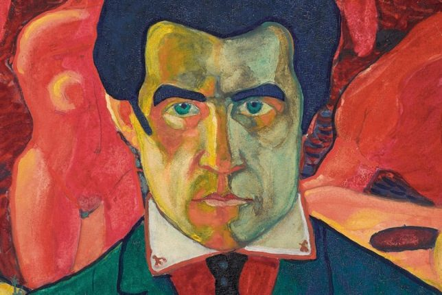 Kazimir Malevich, Self Portrait (1908-1910)