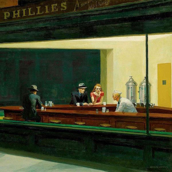 Analyse d'un chef-d'œuvre : Nighthawks de Edward Hopper