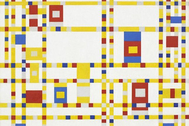Piet Mondrian, Broadway Boogie Woogie, 1942–1943