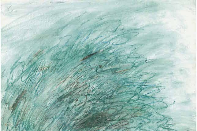 Cy Twombly, On Returning from Tonnicoda, 1973