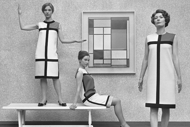 Yves Saint Laurent's The Mondrian Collection