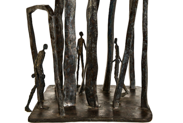 VAL's sculpture Voyage