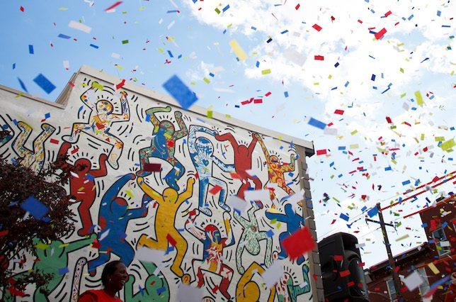 Keith Haring, We the Youth, Philadelphia, USA