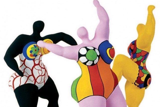 Niki de Saint Phalle, Les trois Grâces, 1994