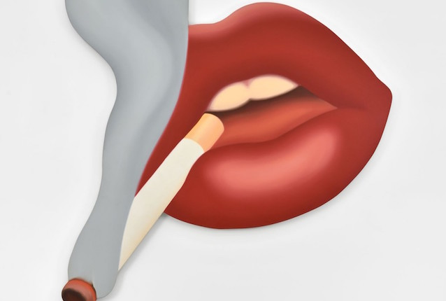 Tom Wesselmann, Smoker #3 (Mouth #17), 1968