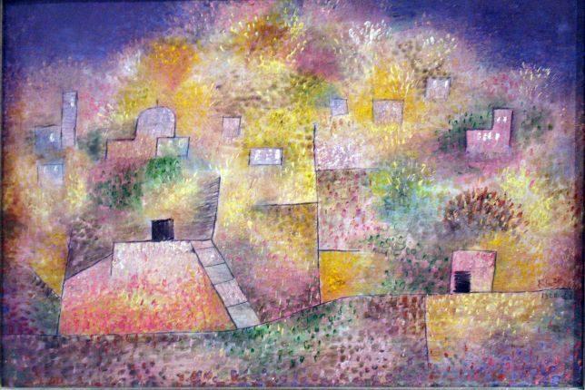 Paul Klee, Jardin d'agrément oriental, 1925