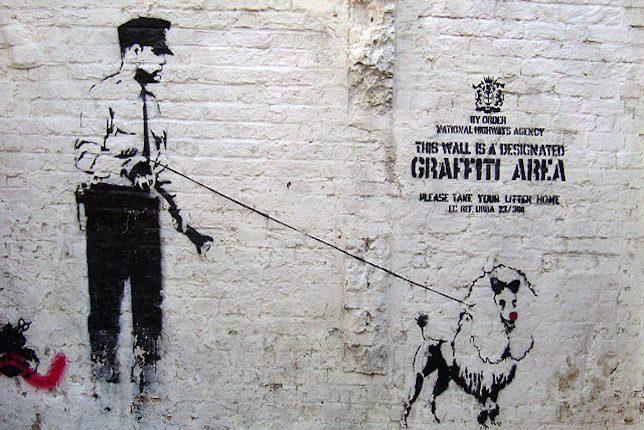 Street Art by Banksy, London
