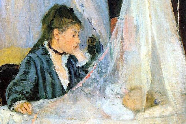 Berthe Morisot, Le Berceau, 1872