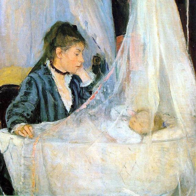 "Berthe Morisot, ""The Cradle"""