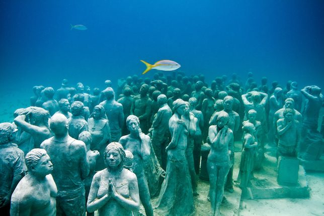 The Underwater Museum, Cancún