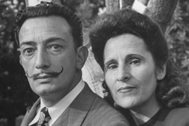 Dalí and his wife, Gala