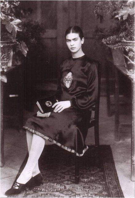 Frida Kahlo Young