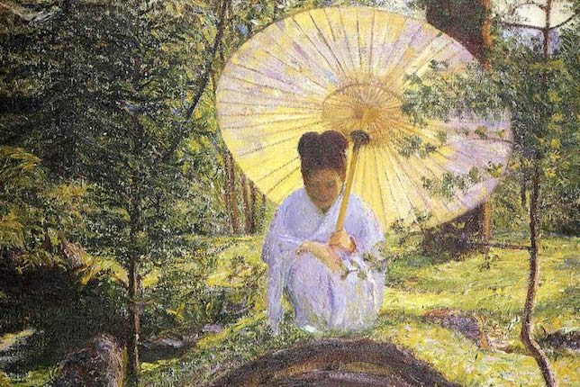 Lilla Cabot Perry, In a Japanese Garden, 1898-1901