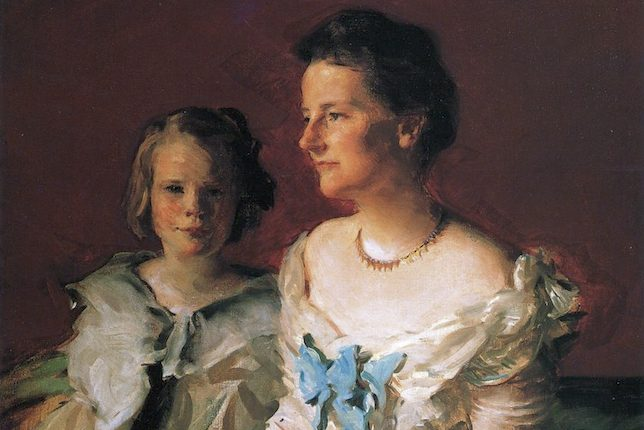 Cecilia Beaux, Mrs. Theodore Roosevelt and daughter Ethel, 1902