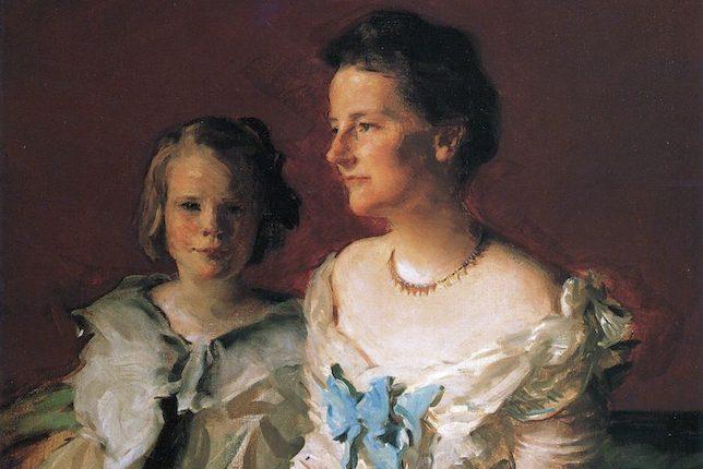 Cecilia Beaux, Mme Theodore Roosevelt et la fille d'Ethel, 1902