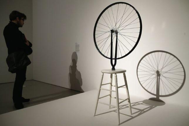 Marcel Duchamp, Roue de bicyclette, 1913 - 1964