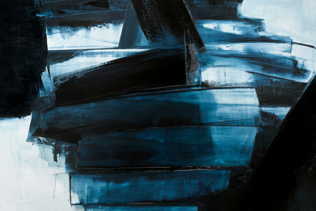 Pierre Soulages - Painting 162 x 130 cm 14 April, 1962 - 1962