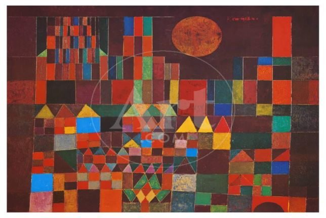 Paul Klee, Castle and Sun, 1928