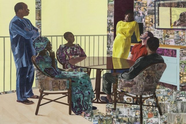 Image décorative: 25 Œuvres contemporaines à connaître absolument: Njideka Akunyili Crosby, I still face you, 2015