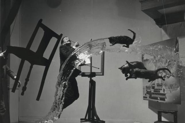 Dalí Atomicus, Philippe Halsman