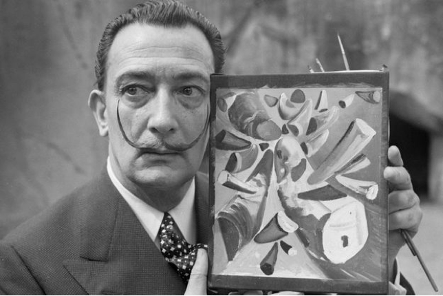 Salvador Dalí in 1955