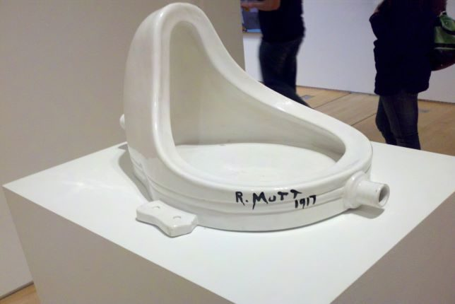 Marcel Duchamp, Fontaine, 1917 - 1964