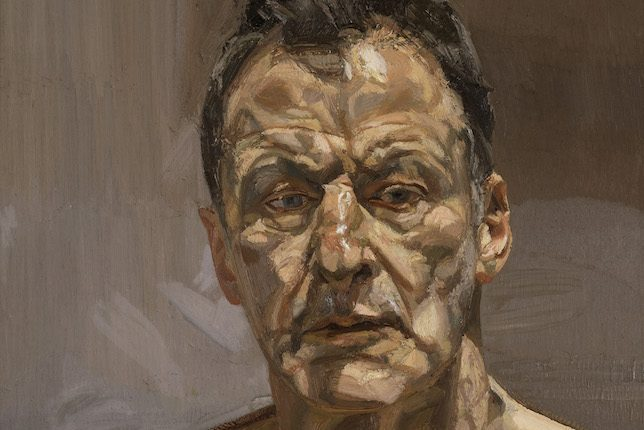 Lucian Freud, Reflection, 1985