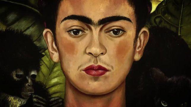 Frida Kahlo, autoportrait au collier d'épines et au colibri, 1940