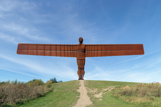 Image décorative: 25 Œuvres contemporaines à connaître absolument: Antony Gormley, Angel of the North, 1998