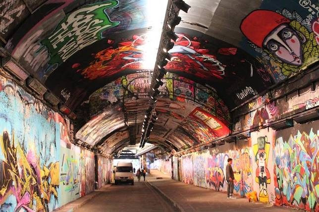 Leake Street Tunnel, Waterloo, London