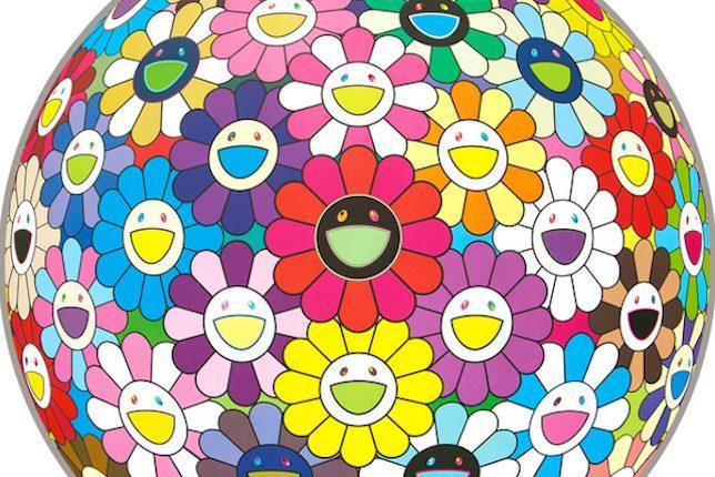Takashi Murakami, Flower Ball, 2002